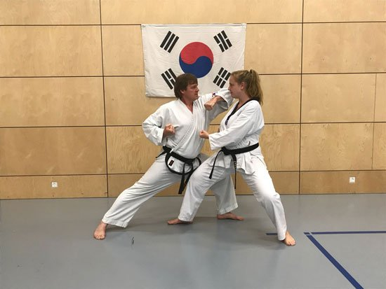 Trainingsbilder Taekwondo